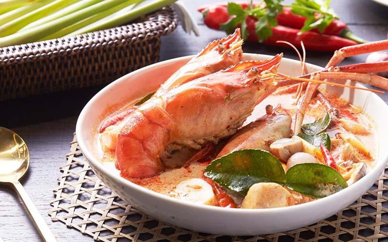 ประวัติที่มาความอร่อยของต้มยำกุ้งไทย